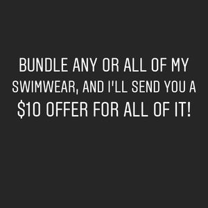 Bundle of size 0, XS swimsuits- do not buy!